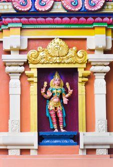 Free Hindu Temple At Kuala Lumpur Malaysia Stock Photography - 19473992