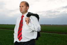 Free Businessmen And Nature Stock Photo - 19474730