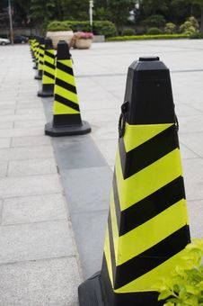 Road-block Stock Images