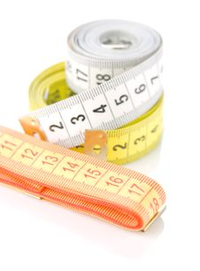 Free Measuring Tapes Royalty Free Stock Photo - 19476125