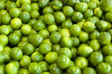 Free Limes In A Bunch Royalty Free Stock Image - 19476456