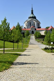 Free Church Of St. John Of Nepomuk Stock Photos - 19476733