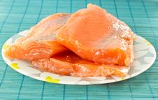 Free Salted Salmon Royalty Free Stock Images - 19477149