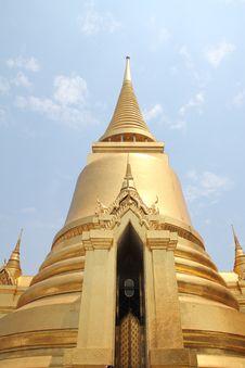 Free Golden Pagoda Stock Photos - 19477943