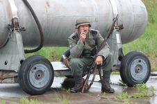 Free German Soldier Royalty Free Stock Image - 19478126