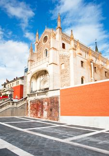 Free Nice Church In Madrid Royalty Free Stock Image - 19478936