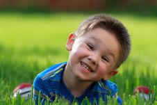 Free Happy Little Boy Royalty Free Stock Photography - 19479047