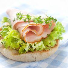 Free Sandwich With Ham Stock Photos - 19479523