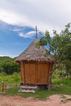 Thai Style Hut On Mountain