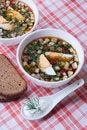 Free Cold Summer Soup Okroshka. Stock Photo - 19481550