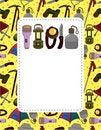 Free Cartoon Climb Equipment Card Stock Photography - 19487882