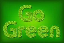 Free Go Green Grass Stock Photography - 19480412