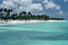 Free Tropical Sunny Ocean Coastline Royalty Free Stock Photos - 19480888