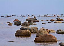 Free Stones In The Sea. Stock Image - 19480981