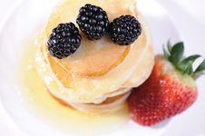 Free Pancakes Stock Image - 19481101