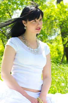 Free Beautiful Woman Outdoor Royalty Free Stock Images - 19482189