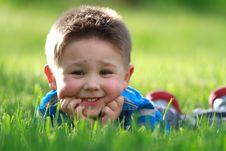 Free Happy Little Boy Stock Photo - 19482290