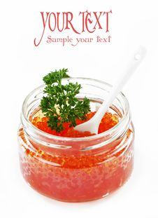 Free Red Caviar Stock Photo - 19482470