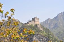 View Of Great Wall In Focus Royalty Free Stock Image
