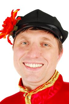 Free Smile Russian Dancer. Royalty Free Stock Photography - 19483637