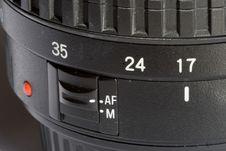Lens Close Up Details Stock Photos
