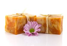 Free Handmade Soap. Royalty Free Stock Photos - 19485028