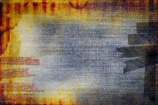 Free Grunge Messy Retro Abstraction Royalty Free Stock Images - 19485129