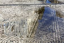 Free Portugal. Lisbon. Typical Portuguese Cobblestone H Royalty Free Stock Photography - 19486187