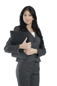 Free Young Businesswoman Standing Stock Photography - 19487042