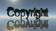 Free Copyright Symbol Royalty Free Stock Images - 19487829