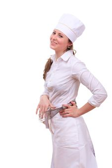 Free Beautiful Cooking Woman Royalty Free Stock Image - 19488156