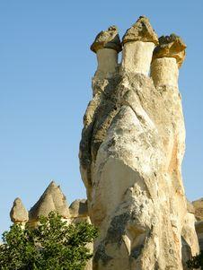 Free Kapadocia Stone Monuments In Turkey Stock Images - 19488274
