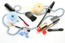 Free Decorative Cosmetics Royalty Free Stock Photo - 19488305