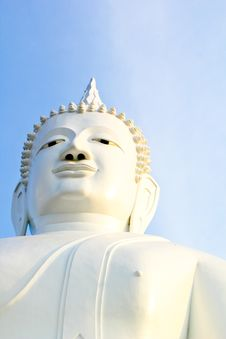 Free Close-up Buddha S Face Royalty Free Stock Image - 19488456