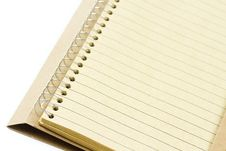 Free Eco Notebook Royalty Free Stock Image - 19488906
