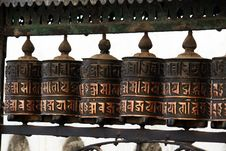 Free Prayer Wheels Stock Image - 19489071