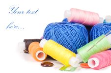 Free Coil Of Threads Royalty Free Stock Photos - 19489468