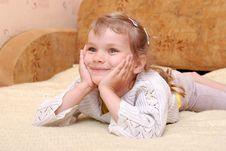 Free Happy Girl Royalty Free Stock Image - 19489556