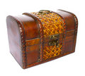 Free The Old Wooden Chest Royalty Free Stock Photos - 19490988