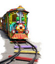 Free Child Locomotive Stock Image - 19492631