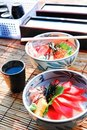 Free Japanese Food Rice With Fish Stock Images - 19495424