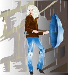 Free Rain Royalty Free Stock Image - 19490386