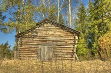Free Wooden Country Barn Stock Photography - 19490442