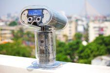 Free Binoculars Overlooking Stock Images - 19490674
