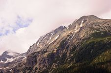 Free Cloudy High Tatras Royalty Free Stock Photography - 19490797