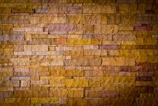 Free Modern Brick Stone Wall Royalty Free Stock Image - 19491386