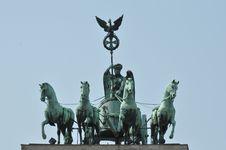 Free Brandenburg Gate Royalty Free Stock Photos - 19491528