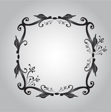 Free Black Photo Frame Royalty Free Stock Images - 19491679