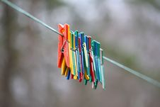 Free Clothespins Stock Photo - 19492220
