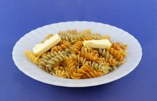 Free Colored Pasta Royalty Free Stock Images - 19492959